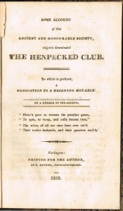 Henpecked Club cover-page single