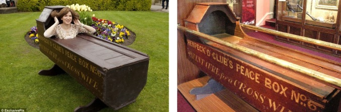 Henpeck'd Club's Peace Box – Patent Cure for a Cross Wife