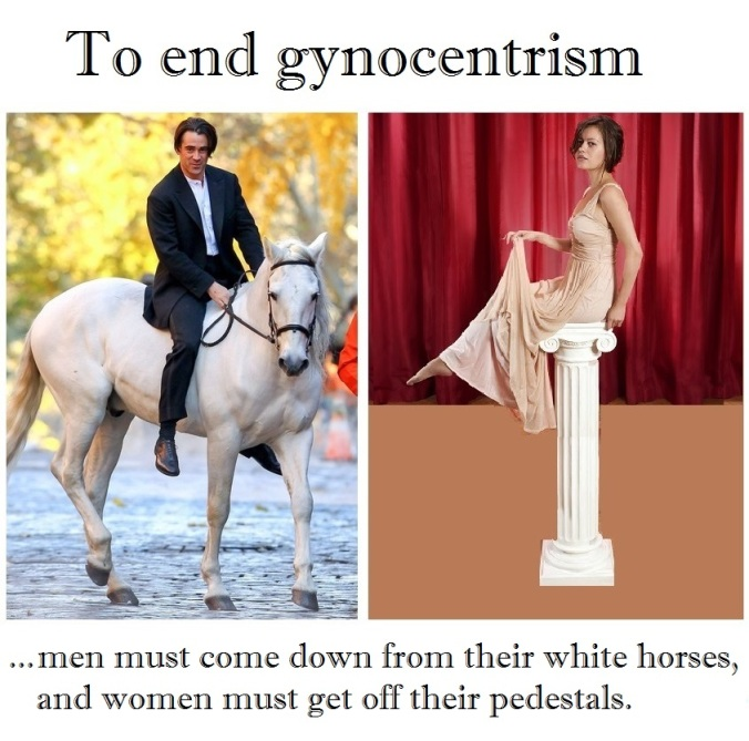 To end gynocentrism alt