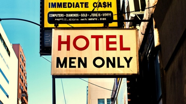 Hotel men only MGTOW Flickr