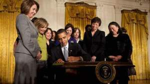 Signing White House Council on Women & Girls