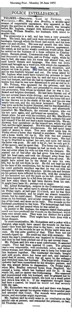 1852 Morning Post - Monday 28 June 1852