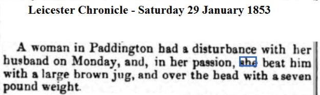 1853 Leicester Chronicle - Saturday 29 January 1853