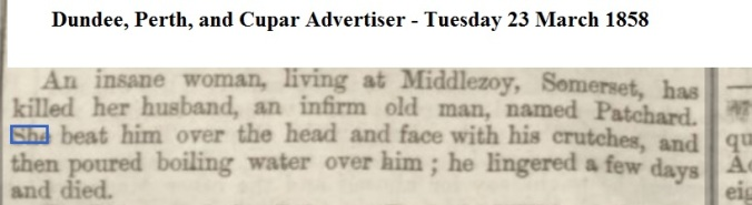 1858 Dundee, Perth, and Cupar Advertiser - Tuesday 23 March 1858
