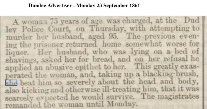 1861 Dundee Advertiser - Monday 23 September 1861