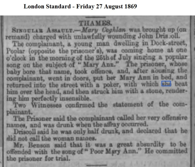 1869 London Standard - Friday 27 August 1869