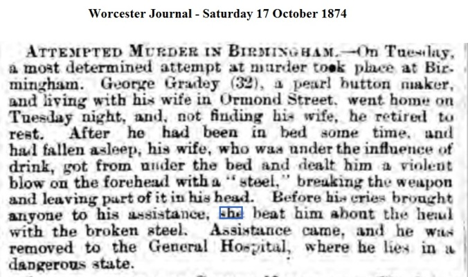 1874 Worcester Journal - Saturday 17 October 1874
