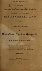 Henpecked-club-title-page