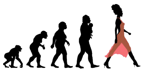 evolution-woman